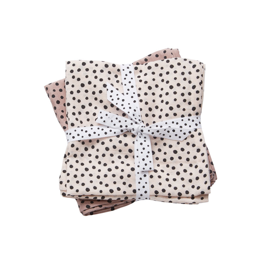 Done by Deer™ Paño infantil 2 unidades Happy dots Polvo