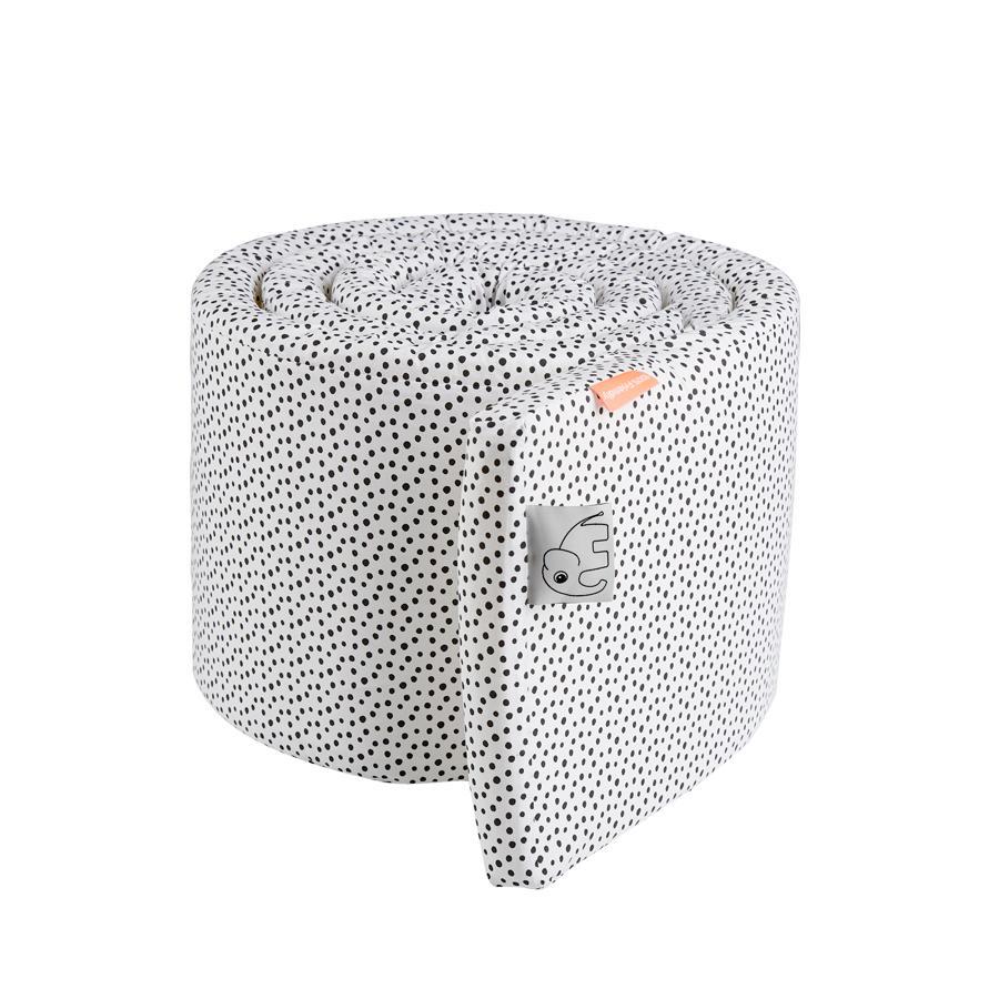 Done by Deer™ Nestchen 350 cm Happy dots weiß