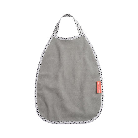 Done by Deer ™ Terry Bib Happy Dots Grey