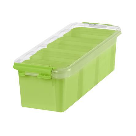 Orthex Boîte de rangement SmartStore™ Classic à 4 trieurs vert