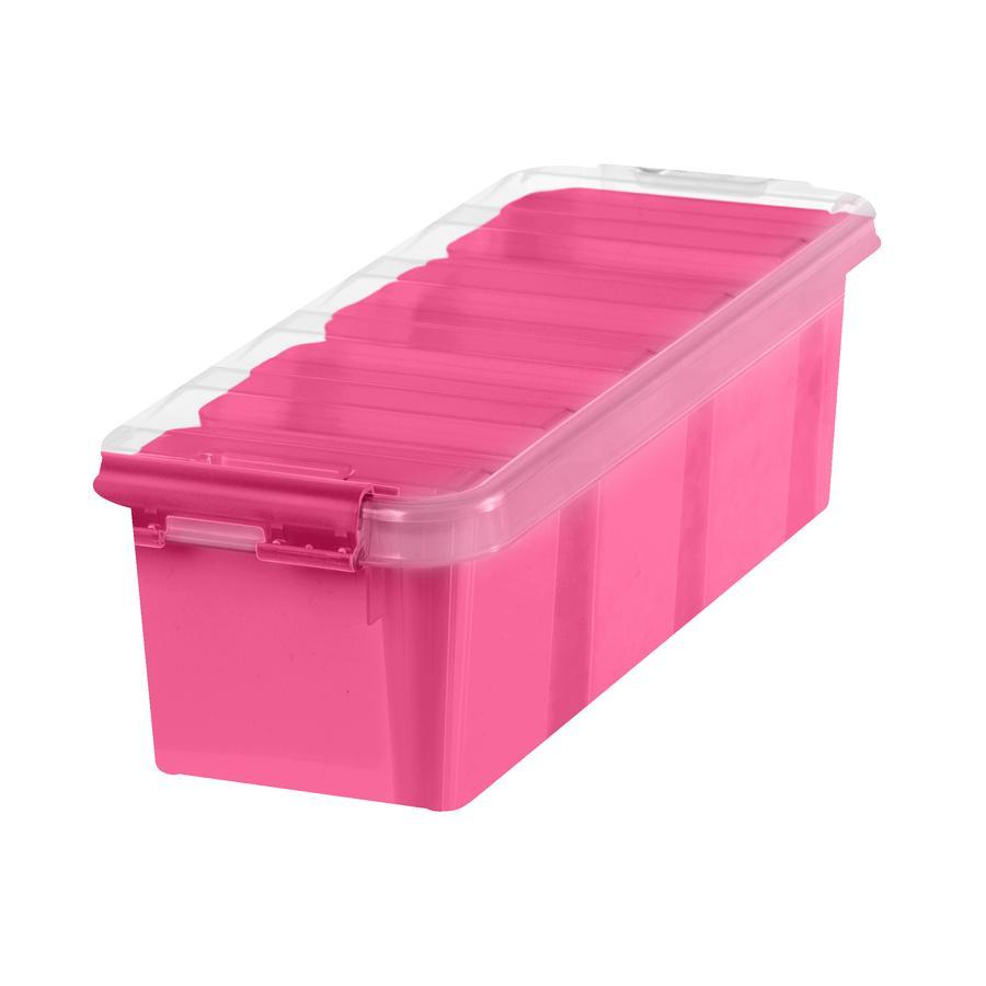 Orthex SmartStore™ Opbergdoosje Class ic 4 incl. vier inzetstukken, roze