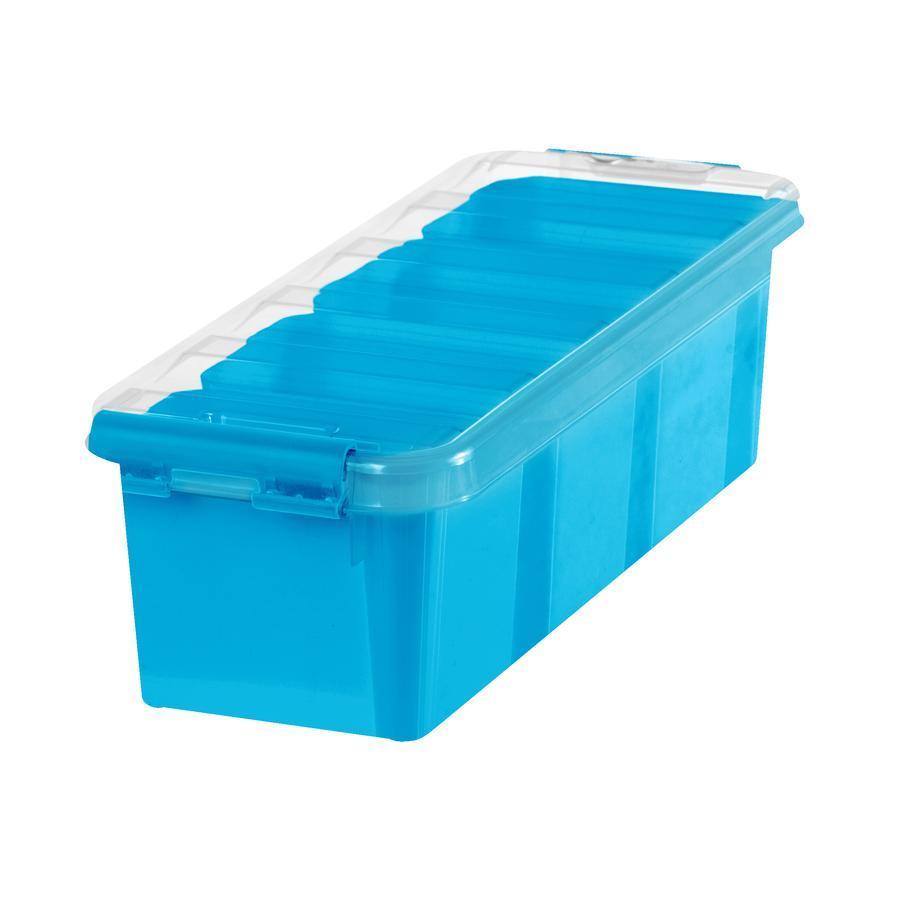 Orthex Boîte de rangement SmartStore™ Classic à 4 trieurs bleu