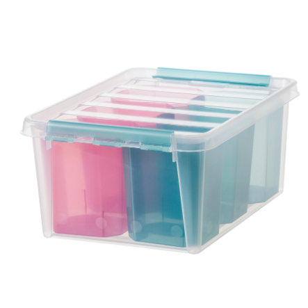 Orthex SmartStore™ Caja de almacenamiento Colour 15 incl. inserto, rosa/azul