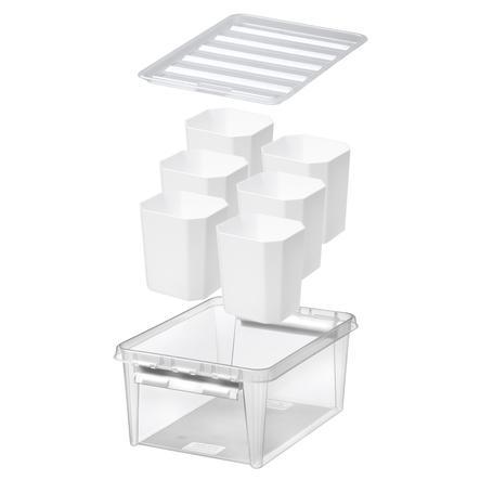 Orthex Boîte de rangement SmartStore™ Classic 15 à 6 trieurs blanc