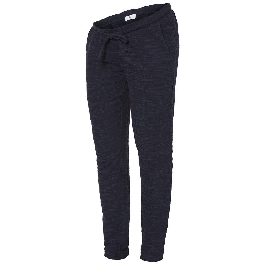 mama licious Pantalon de grossesse de jogging MLDELAILA coton black iris