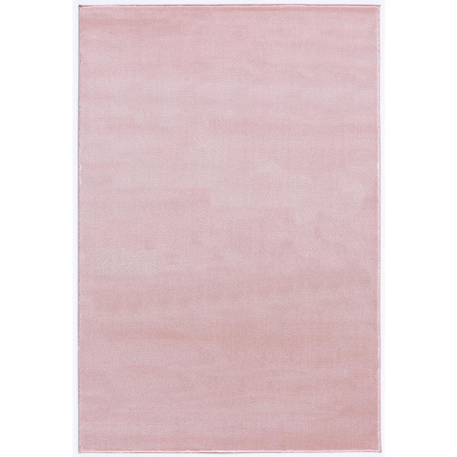 LIVONE leg og børnetæppe Happy Rugs almindelig lyserød, 120 x 180 cm