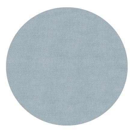 LIVONE Spiel- und Kinderteppich Happy Rugs Uni Rund blau, 133 cm