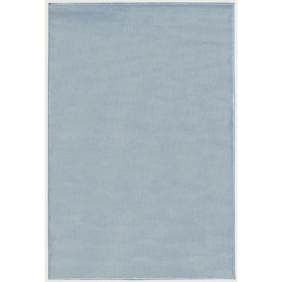 LIVONE leg og børnetæppe Happy Rugs Uni blå, 160 x 230 cm