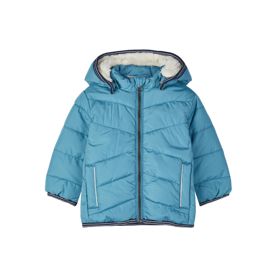 name it Boys Winterjacke NBMMUS storm blue