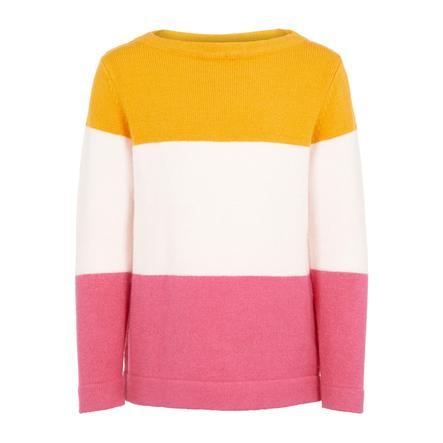 name it Girls Strick-Pullover Vulia golden orange
