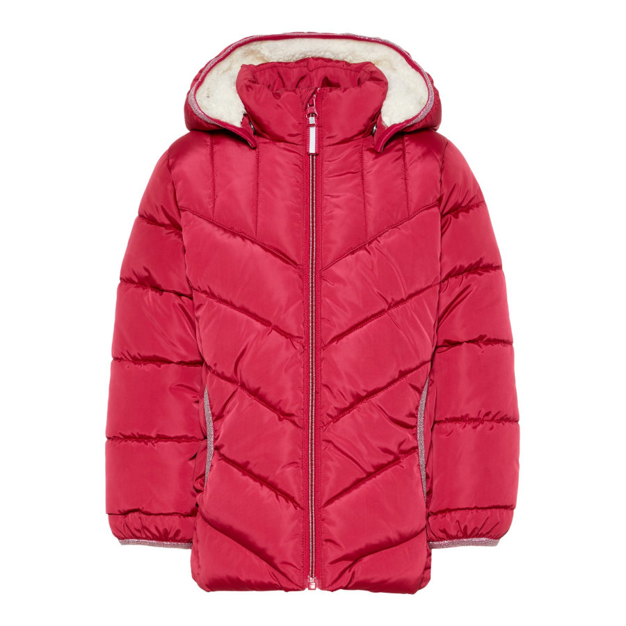 name it Girls Veste d'hiver NMFMUS Cerise