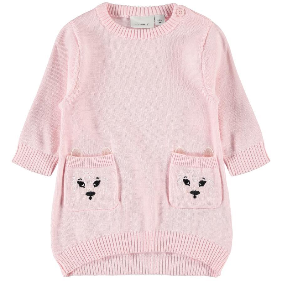name it kjole Nbfonesse knap pink
