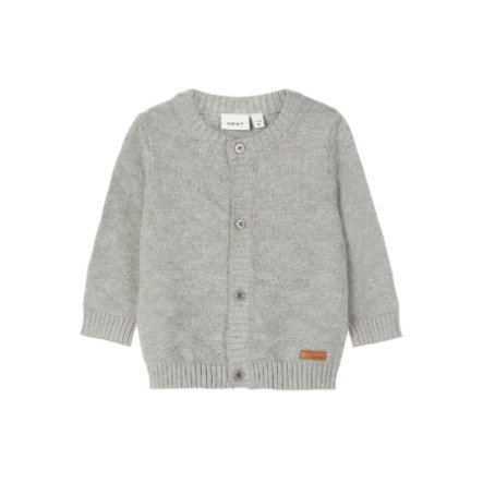 name it Cardigan Omolle gris mélangé