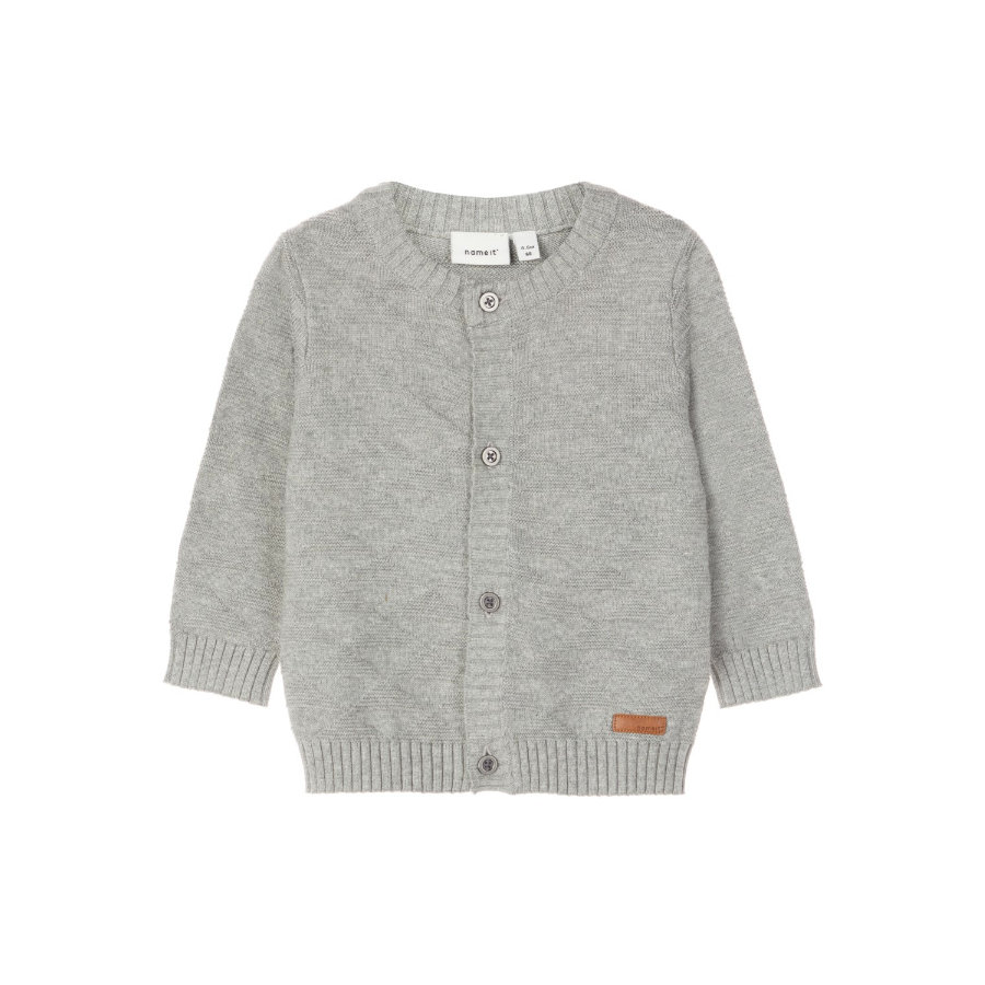 name it Cardigan Omolle - szary melange