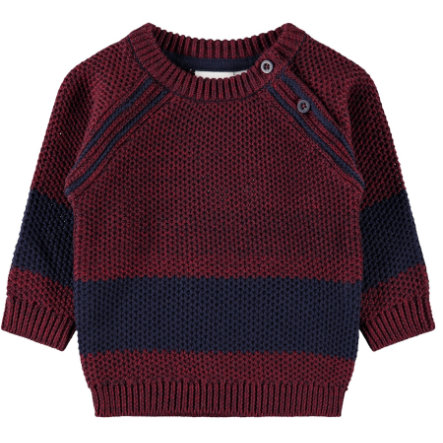 name it Boys Strickpullover Ovant cabernet