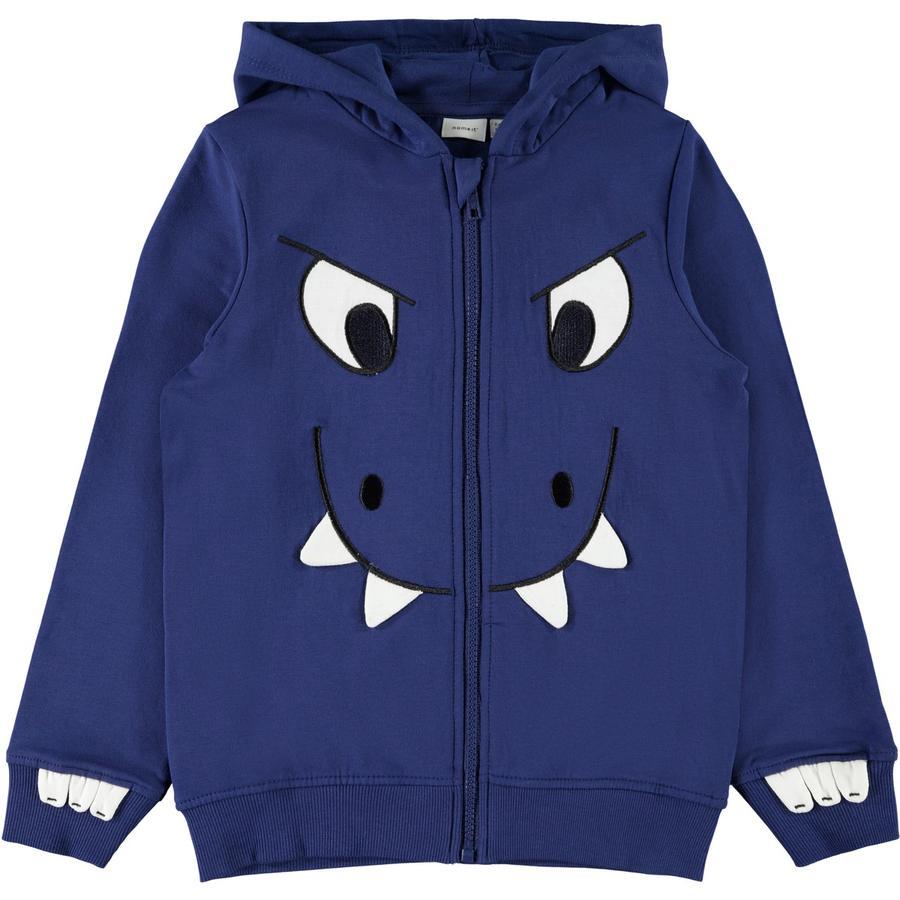 name it Sweatshirt garçon Nidino bleu profond