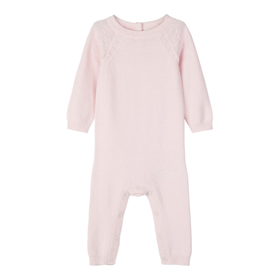 name it Girls Strickoverall Omulle barely pink