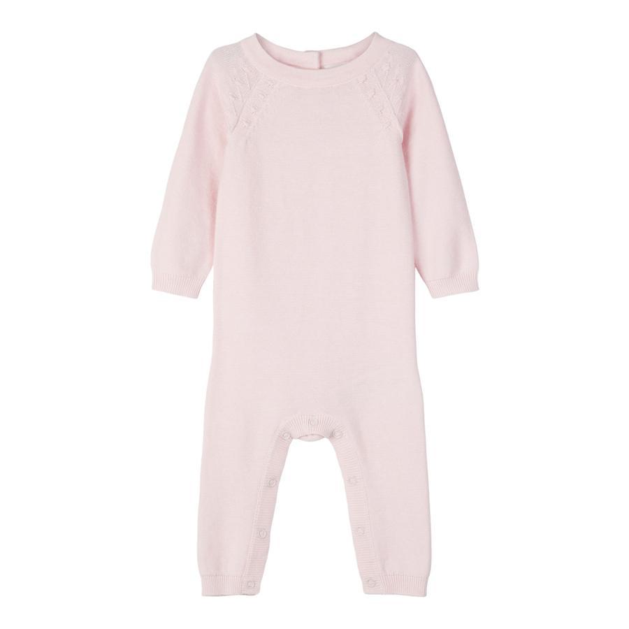 name it Girls Tuta a maglia Omulle barely rosa