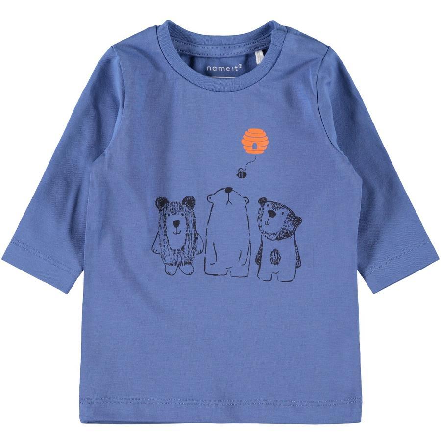 name it Langermet skjorte Nmbolau nederlandsk blå
