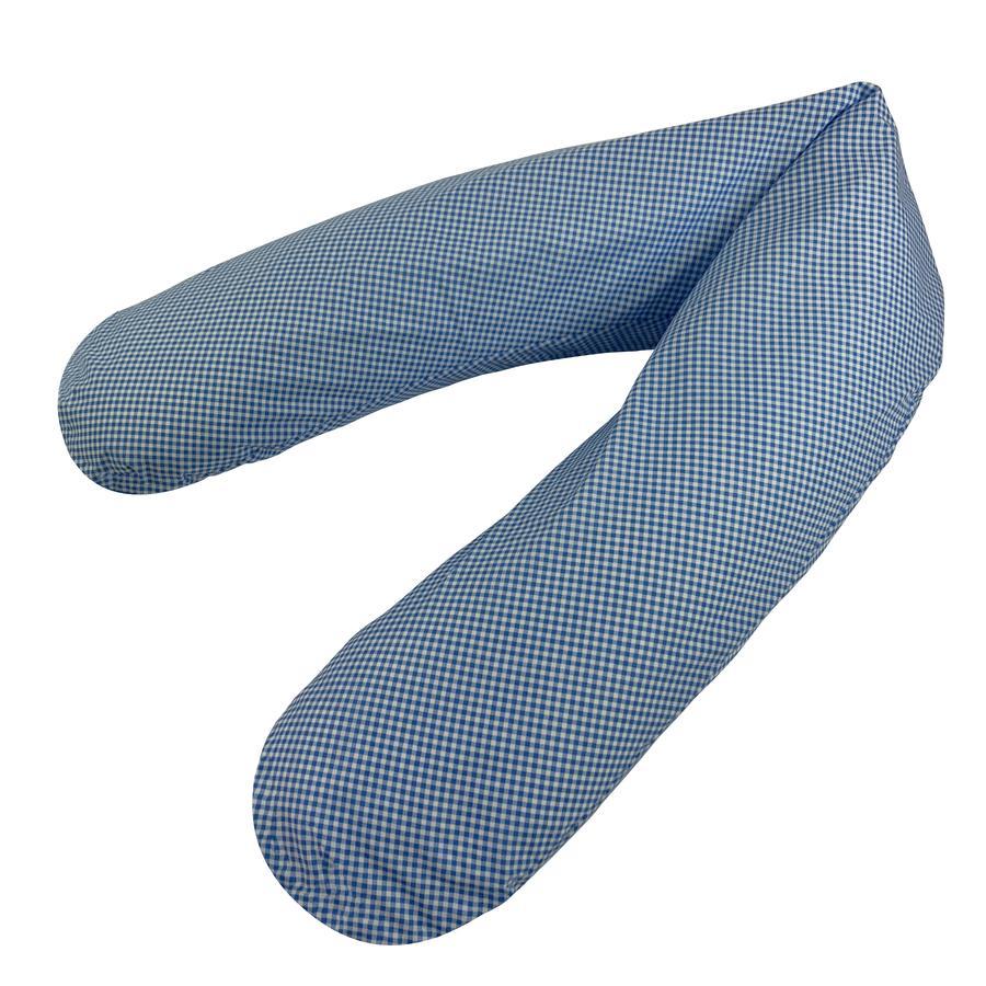 joyfill Original Flexofill Stillkissen Vichy blau 190cm