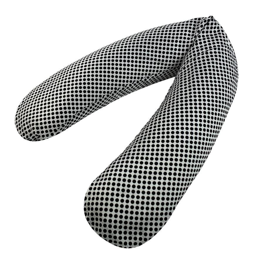joyfill Original Flexofill Stillkissen Black Dots 190cm