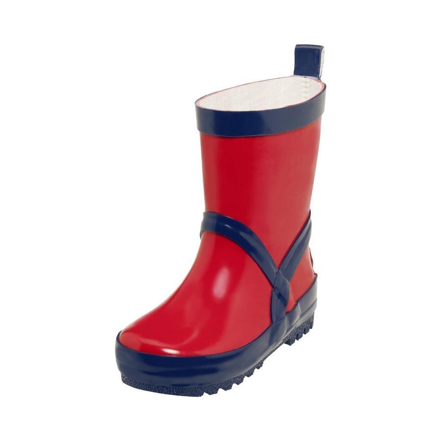 Playshoes  Gumowe buty czerwone/ marine