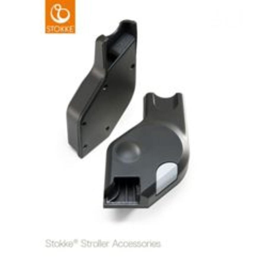 STOKKE® Adapter Multi für Xplory®, Trailz™, Scoot™ und Beat™ Schwarz