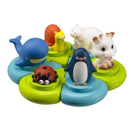 VULLI Jouet de bain puzzle animaux Sophie la girafe®