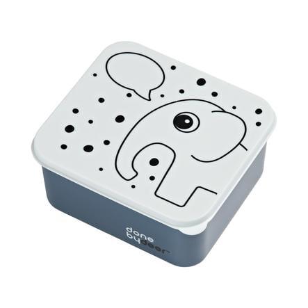Done by Deer™ Lunchbox blau
