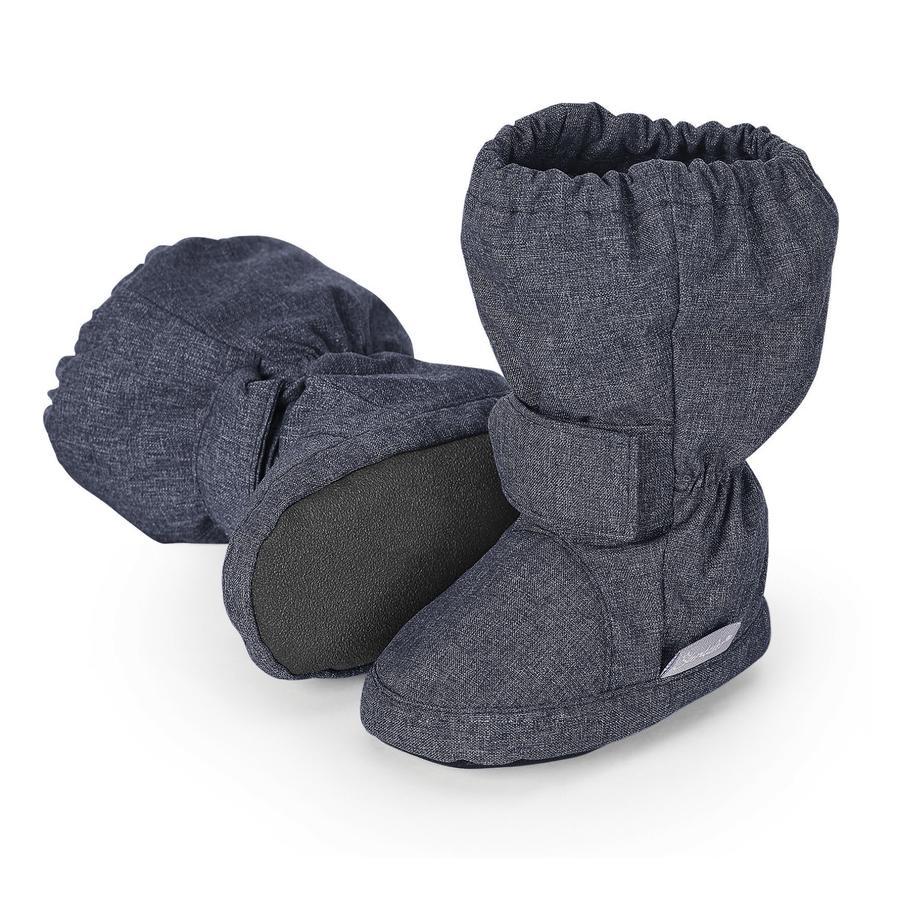 Sterntaler Boys Baby-Schuh blau melange large
