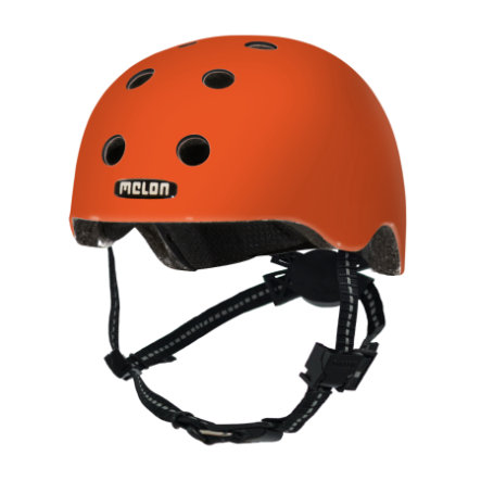 Melon® Casque de vélo enfant Toddler Design Rainbow orange T.XXS 44-50 cm