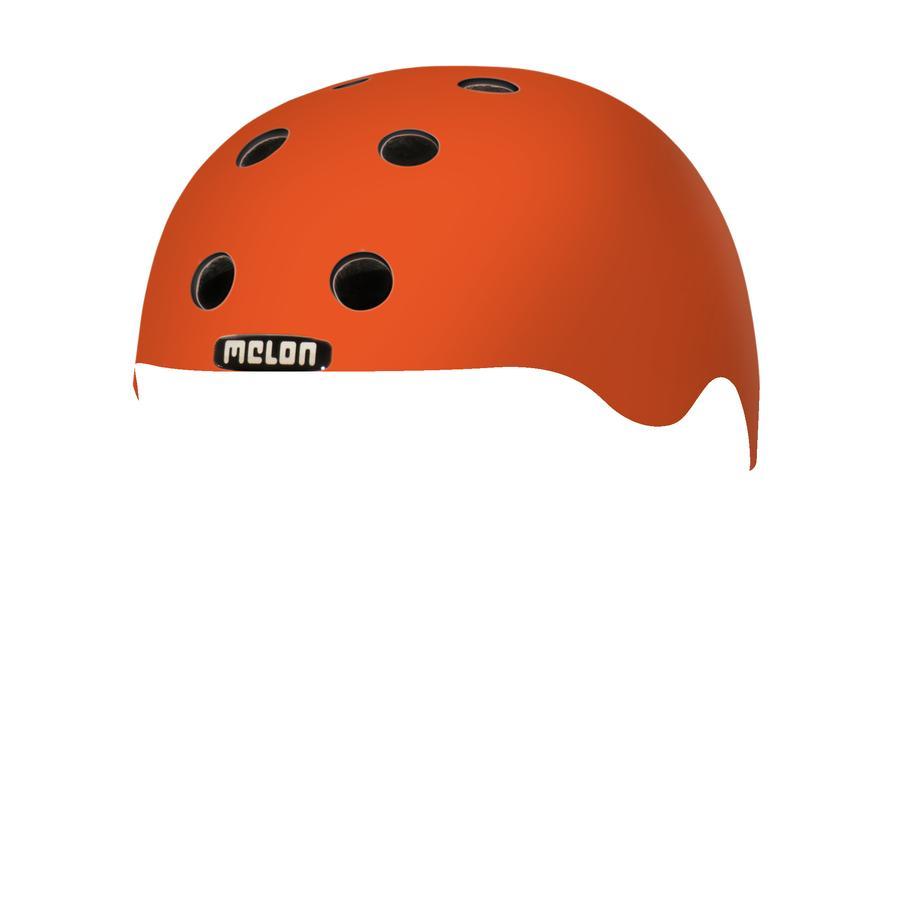Melon® Toddler Helm Design Rainbow Orange - størrelse XXS, 44-50 cm