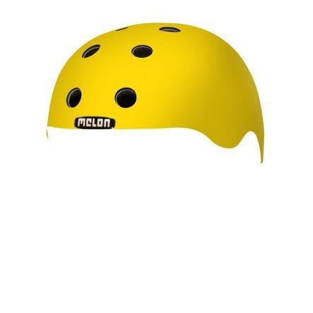 Melon® Toddler Helm Design Rainbow Yellow - størrelse XXS, 44-50 cm