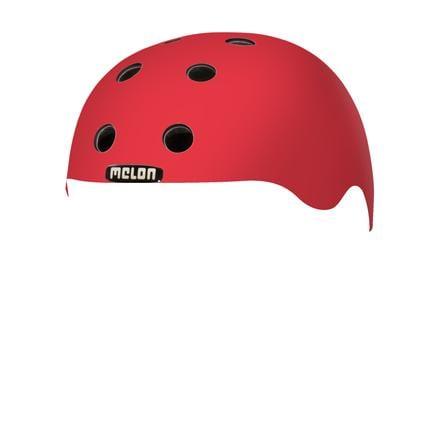 Melon® Toddler Helm Design Rainbow Red - størrelse XXS, 44-50 cm
