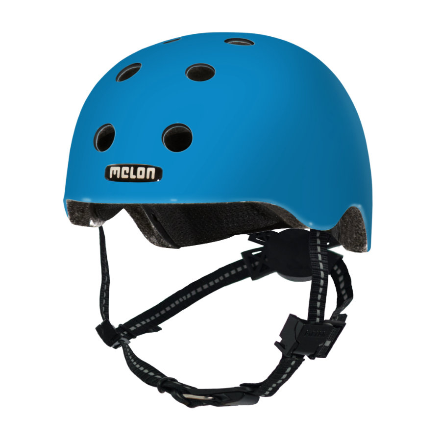 Melon® Toddler Helm Design Rainbow Blue - størrelse XXS, 44-50 cm