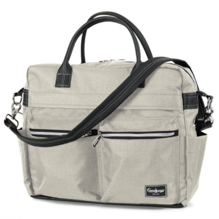 Emmaljunga Wickeltasche Travel Lounge Beige Eco