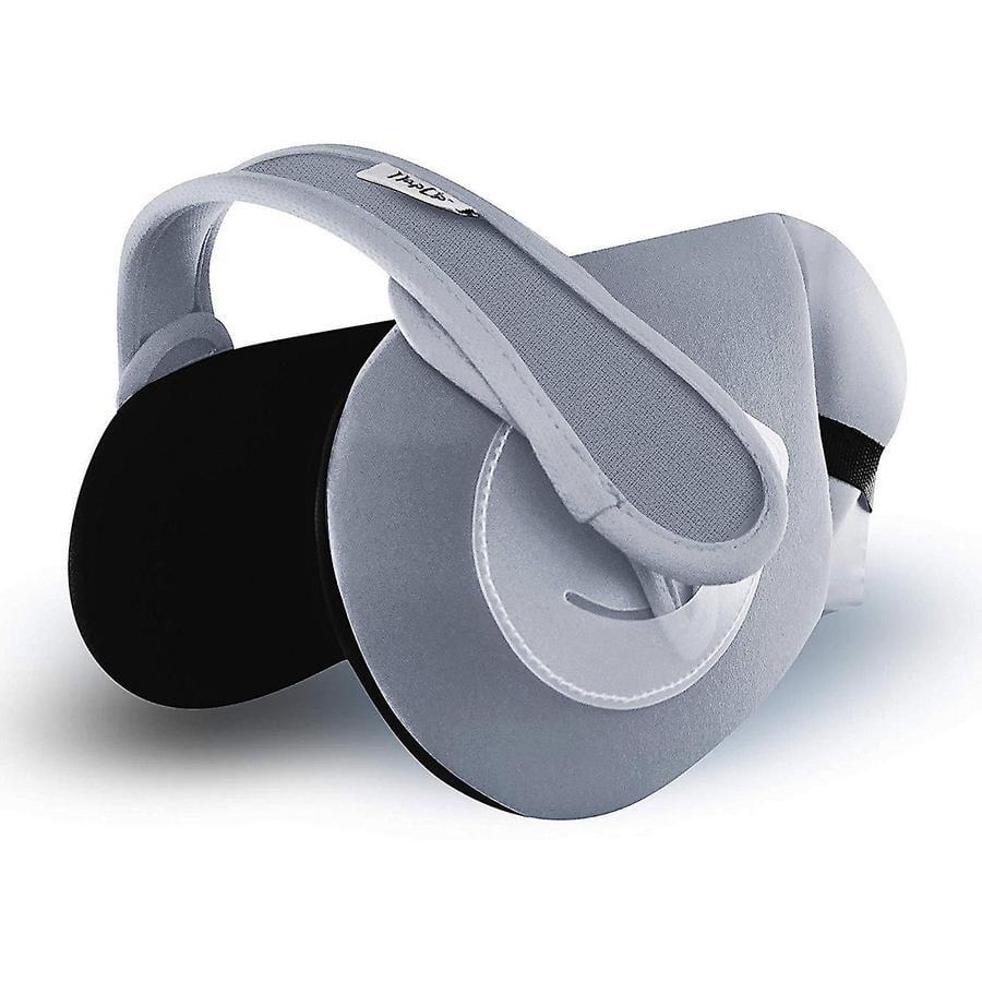 NapUp Ride grey - cestovní opěrka hlavy na dětské sedačky