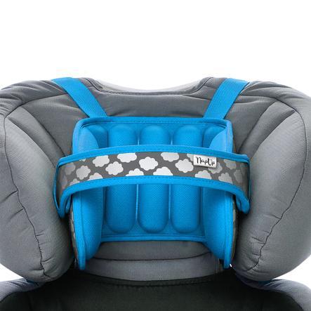 NapUp ™ Original niebieski - wygodny podparcie pod szyję dla fotelików dziecięcych