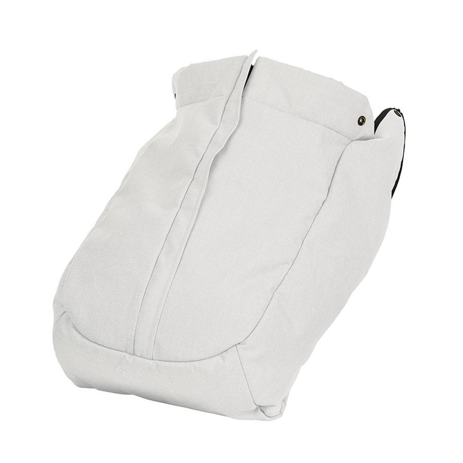 Emmaljunga Fußsack NXT Ergo Leatherette White