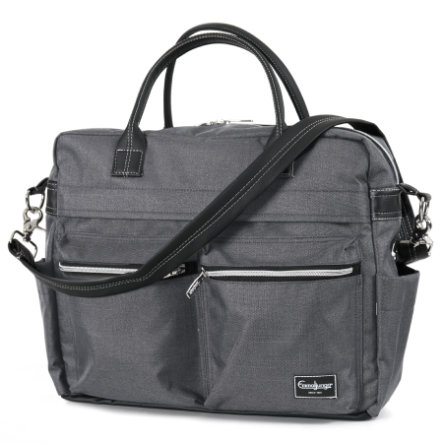 Emmaljunga Wickeltasche Travel Lounge Grey Eco