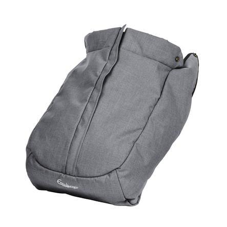Emmaljunga Fußsack NXT Flat Eco Lounge Grey