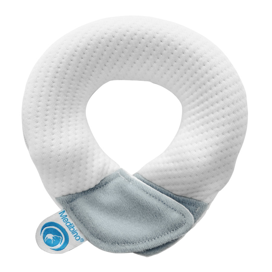 Kluba Medical Medibino® hodebeskyttele til baby, grå