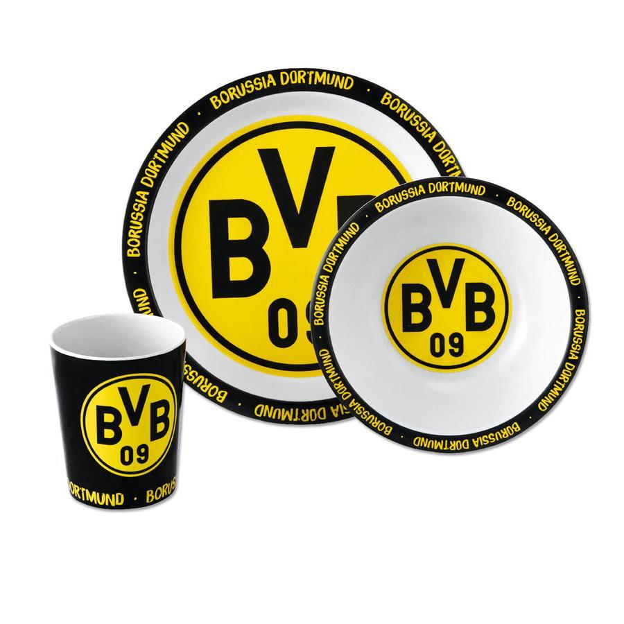 BVB Bambus Geschirr Set (3er Set)