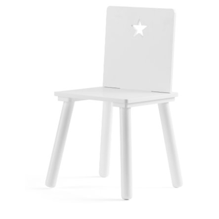 Dětská židle Concept Star, bílá