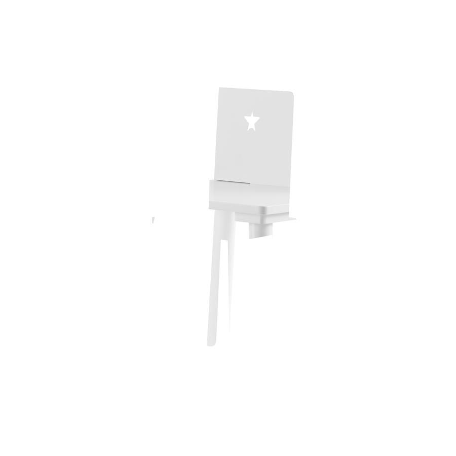 KIDS CONCEPT Krzesło Star kolor biały