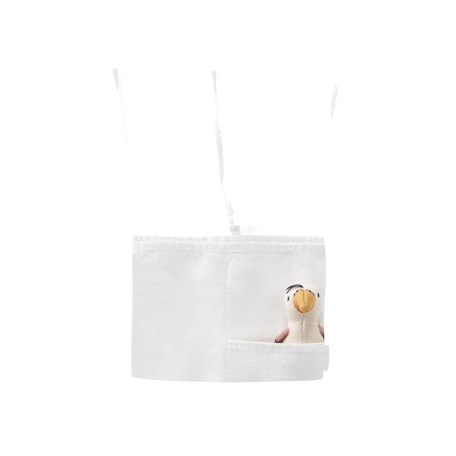 Kids Concept® Aufbewahrungstasche aus Leinen, hängend