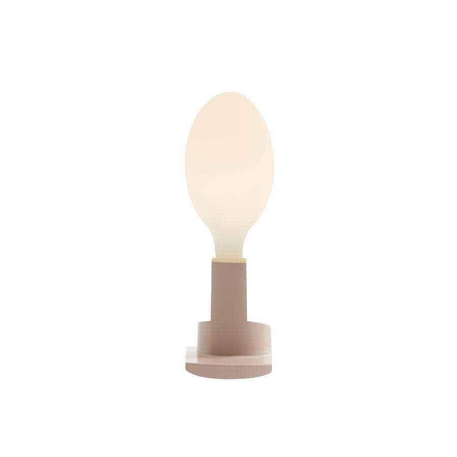 Kids Concept stolní / nástěnná lampa, růžová