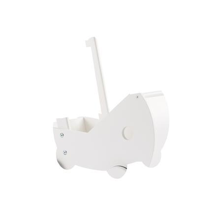 Kids Concept® Dukkevogn Inkl. Sengetøj, Hvid