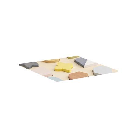 Děti koncept puzzle tvary