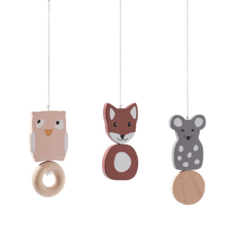 Kids Concept® Babygym-Figuren Edvin